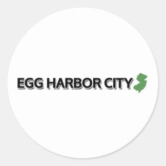 Ciudad del puerto del huevo New Jersey