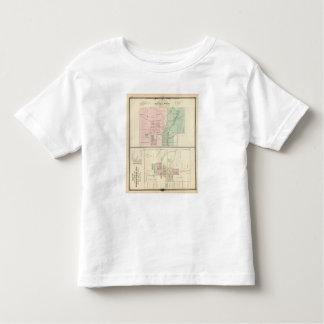 Ciudad del punto mineral y pueblo de Dodgeville Playera De Bebé