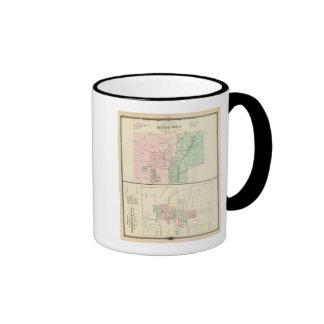 Ciudad del punto mineral y pueblo de Dodgeville Taza A Dos Colores