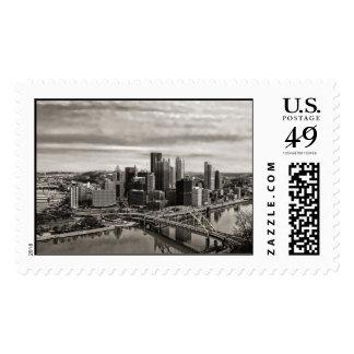 Ciudad del sello de Pittsburgh los E.E.U.U. para