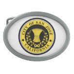 Ciudad del sello de San Jose Hebillas De Cinturon