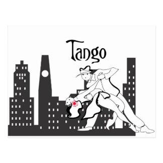 Ciudad del tango postal