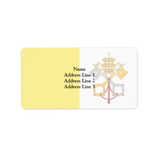 Ciudad del Vaticano, Panamá Etiquetas De Dirección