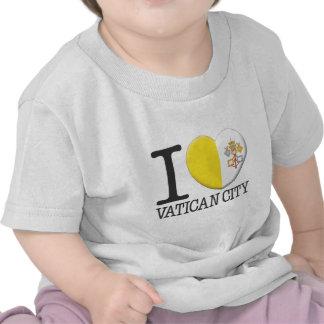 Ciudad del Vaticano Camisetas