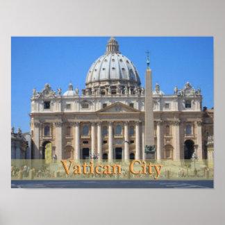 Ciudad del Vaticano Póster
