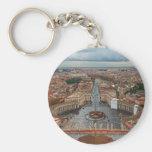 Ciudad del Vaticano - visión desde la basílica de  Llavero