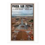 Ciudad del Vaticano - visión desde la basílica de  Tarjeta Postal