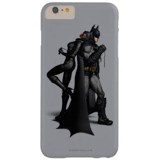 Ciudad el | Batman de Batman Arkham y Catwoman Funda Barely There iPhone 6 Plus