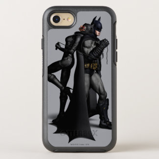Ciudad el | Batman de Batman Arkham y Catwoman Funda OtterBox Symmetry Para iPhone 7