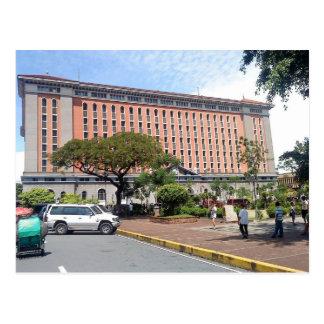 Ciudad emparedada interior Manila de la Postal