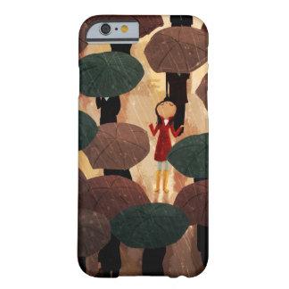 Ciudad en la lluvia de Nidhi Chanani Funda De iPhone 6 Barely There