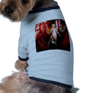 Ciudad en la noche ropa perro