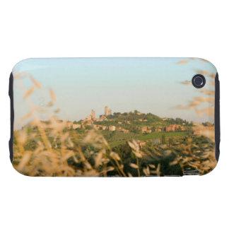 Ciudad en una colina, provincia de San Gimignano,  Tough iPhone 3 Carcasa