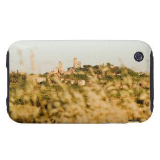 Ciudad en una colina, provincia de San Gimignano,  iPhone 3 Tough Carcasas