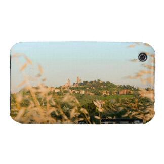 Ciudad en una colina, provincia de San Gimignano,  Case-Mate iPhone 3 Fundas
