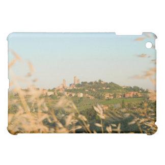 Ciudad en una colina, provincia de San Gimignano,