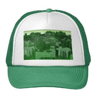 Ciudad esmeralda gorros bordados