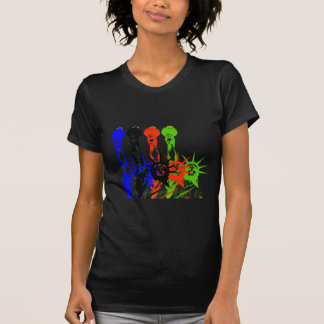 Ciudad-Estatua de Nueva York de la libertad Camiseta