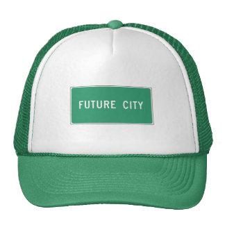 Ciudad futura, marcador del camino, Illinois, los Gorras De Camionero