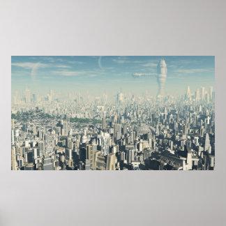 Ciudad futura - poster