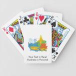 ciudad graphic.png de Hong-Kong Baraja Cartas De Poker
