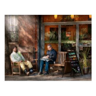 Ciudad - Greenwich Village - el café de la Postal