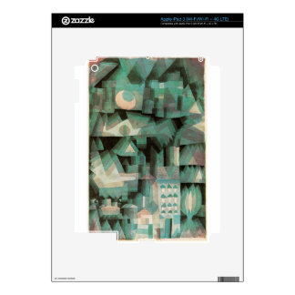 Ciudad ideal de Paul Klee Pegatinas Skins Para iPad 3