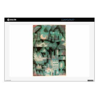 Ciudad ideal de Paul Klee Portátil Skin
