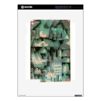Ciudad ideal de Paul Klee Skins Para eliPad 2