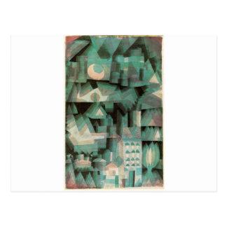 Ciudad ideal de Paul Klee Tarjeta Postal