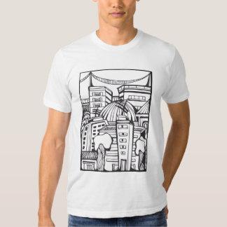 Ciudad III de estancia que dibuja Poleras