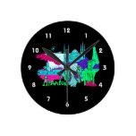 ciudad image.png del trullo de Estambul lumpur Relojes De Pared