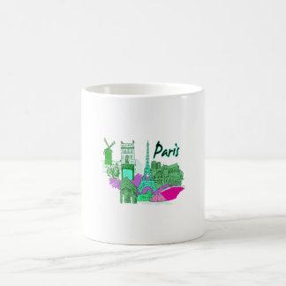 ciudad image.png del trullo de París Tazas De Café