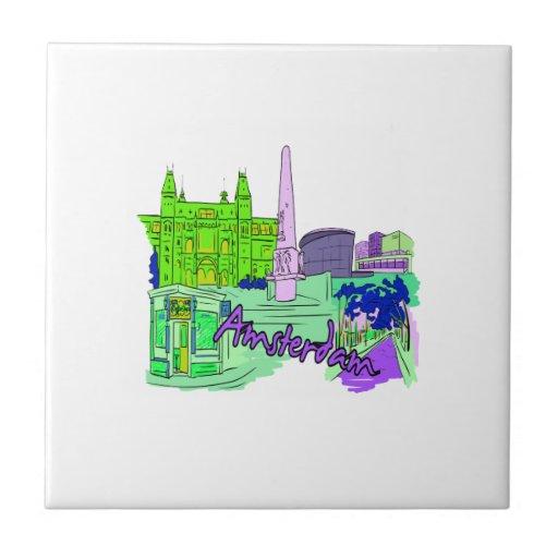 ciudad image.png del verde 2 de Amsterdam Teja Cerámica