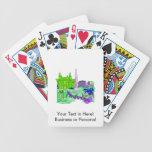 ciudad image.png del verde 2 de Amsterdam Baraja Cartas De Poker