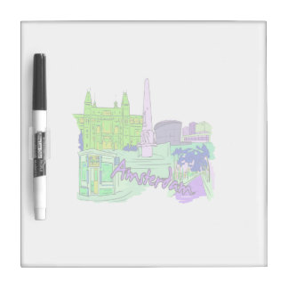ciudad image.png del verde 2 de Amsterdam Pizarras Blancas De Calidad