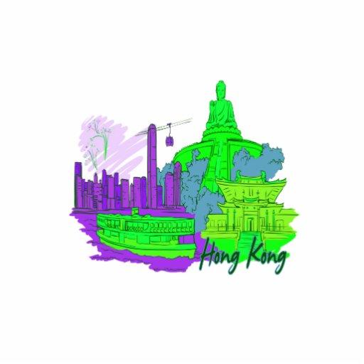 ciudad image.png del verde 2 de Hong-Kong Esculturas Fotográficas
