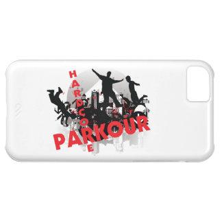 Ciudad incondicional del Grunge de Parkour Funda Para iPhone 5C