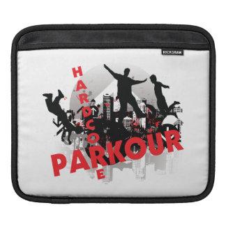 Ciudad incondicional del Grunge de Parkour Fundas Para iPads