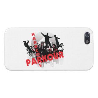 Ciudad incondicional del Grunge de Parkour iPhone 5 Carcasa