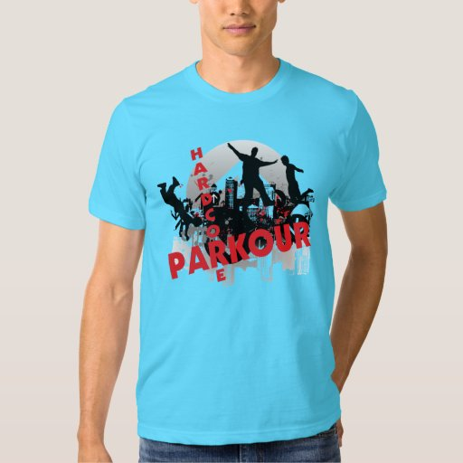 Ciudad incondicional del Grunge de Parkour Polera