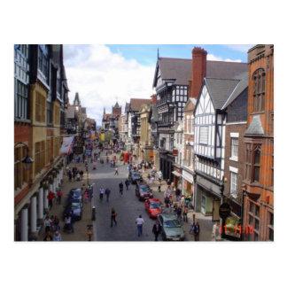 Ciudad inglesa de Chester Postales