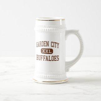 Ciudad jardín - búfalos - alta - ciudad jardín tazas de café
