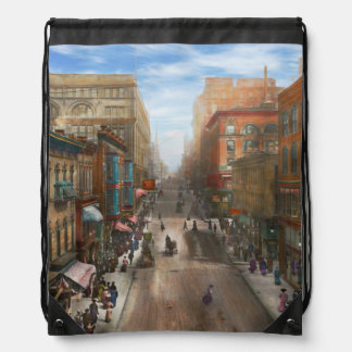 Ciudad - Kansas City MES - carril 1906 de la Mochilas