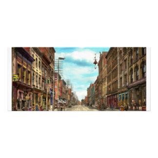 Ciudad - Knoxville TN - calle gay 1903 Lona