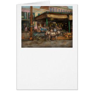 Ciudad - LA de New Orleans - Frankie y los Tarjeta De Felicitación
