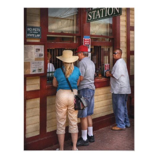 Ciudad - la estación de tren anuncios personalizados