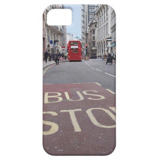 Ciudad Londres Inglaterra de la calle muy iPhone 5 Case-Mate Funda