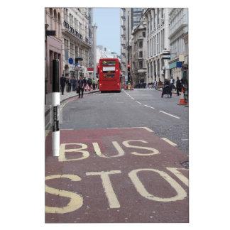 Ciudad Londres Inglaterra de la calle muy Pizarras