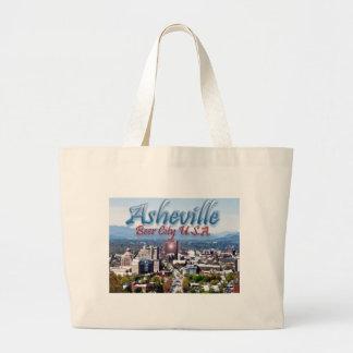 Ciudad los E.E.U.U. de la cerveza de Asheville Bolsa Tela Grande